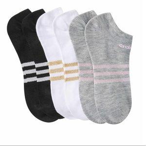 🆕 adidas women's superlite metallic no show socks